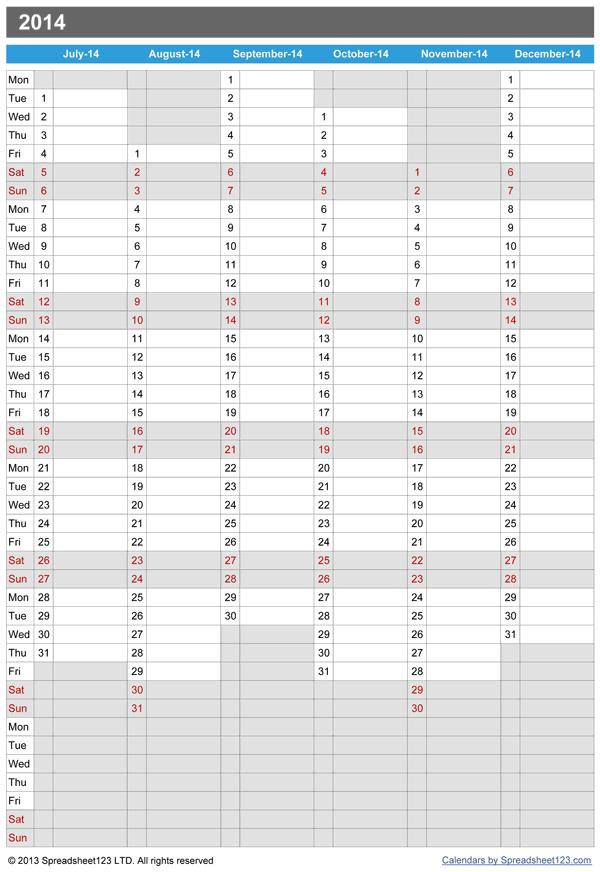 microsoft calendars download