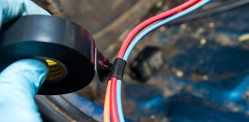 wire harness wrapping