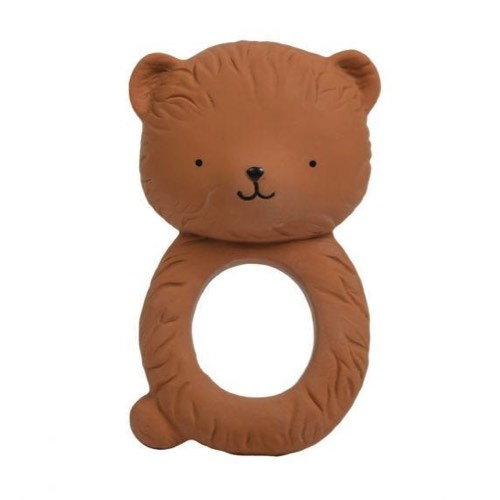 Mima Moon Review A Little Lovely Company Teething Ring Natural Rubber Bear