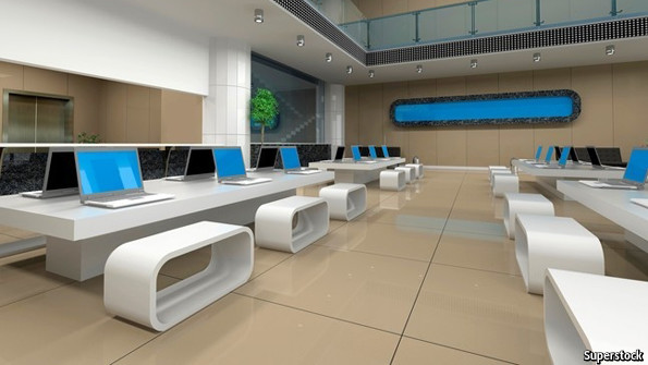 Mind if I take this space? - Hot-desking and office hire