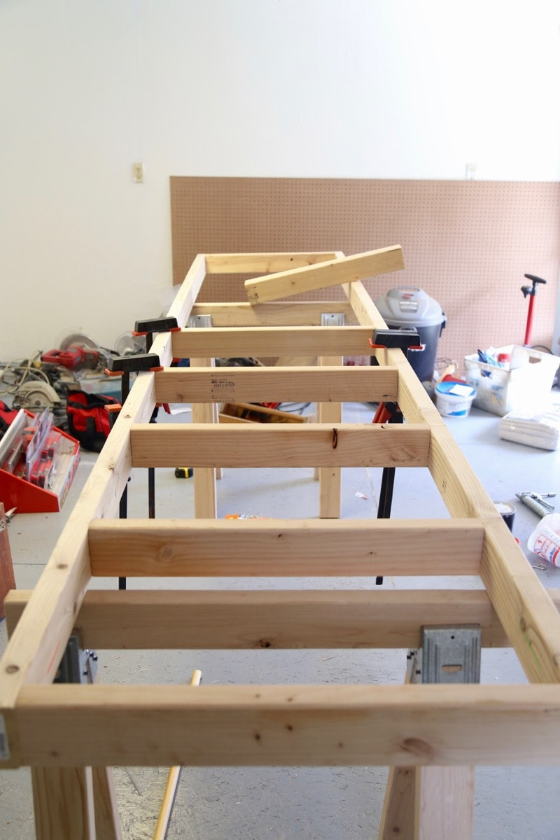 How To Build A Simple Diy Workbench Love Renovations