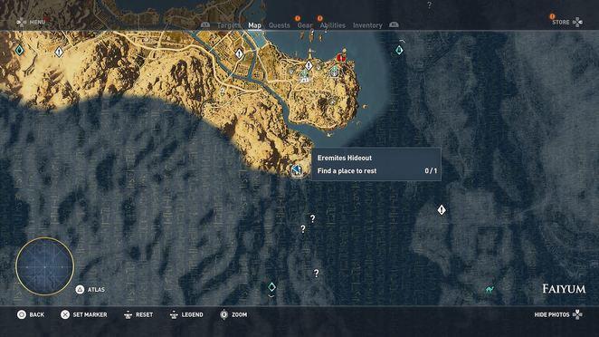 Hermit Locations - Assassin\u0027s Creed Origins Walkthrough - Neoseeker