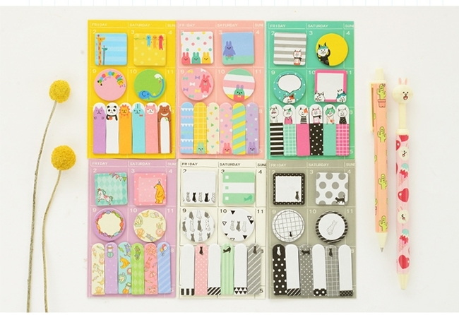 Cute Schedule Marker Sticky Note \u2013 SugarCatz