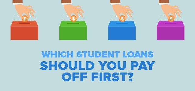 4 Steps To Help You Decide Which Student Loans To Pay Off First - payoff credit card loan