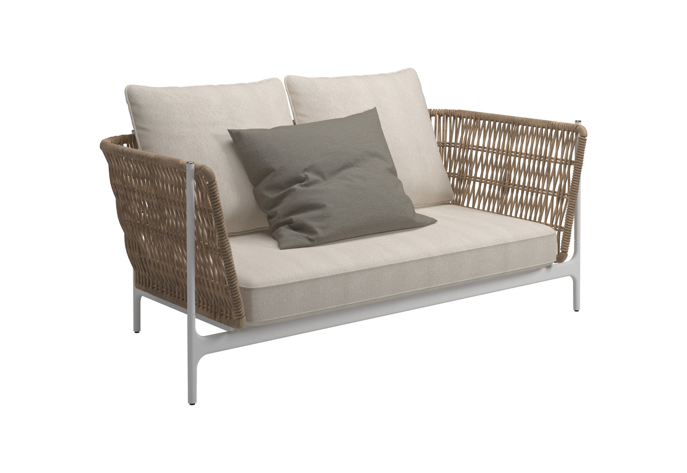 Grand Weave Sofa Zweisitzer Von Gloster Furniture Stylepark