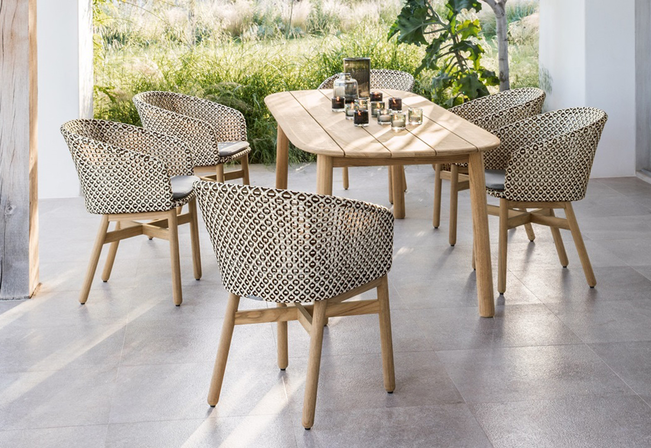 Dedon Mbrace Mbrace Dining Table By Dedon Stylepark