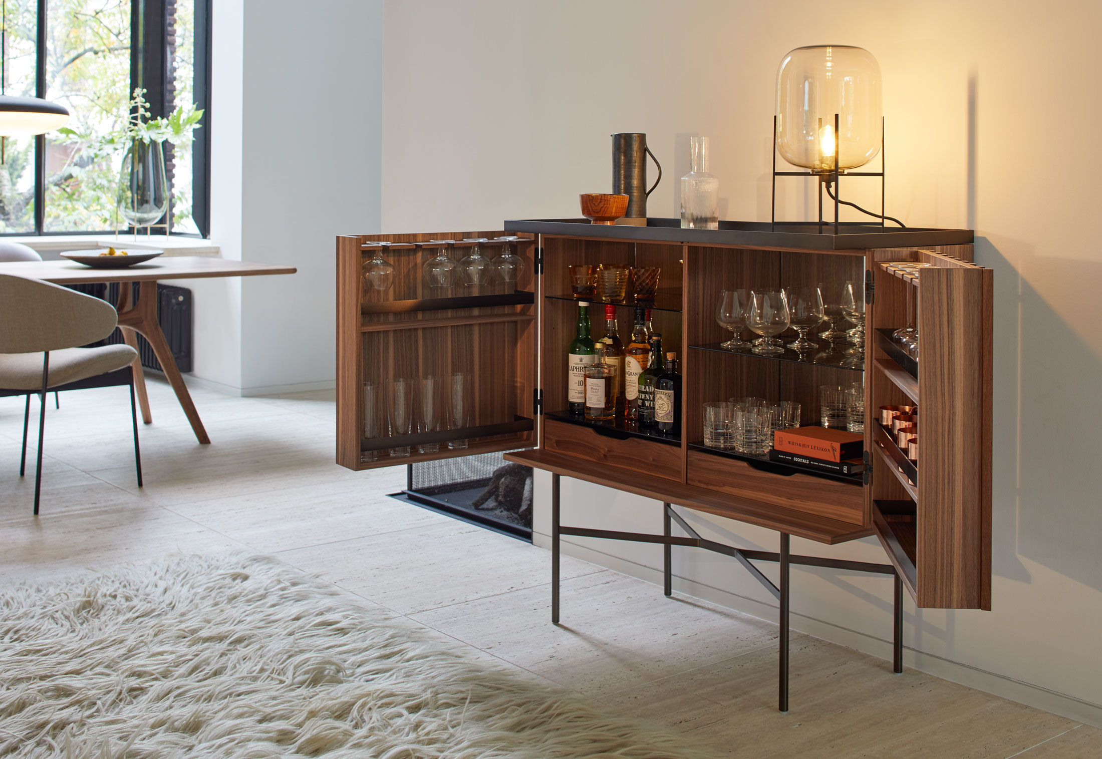 Barschrank Industrial Harri Bar Cabinet By More Stylepark