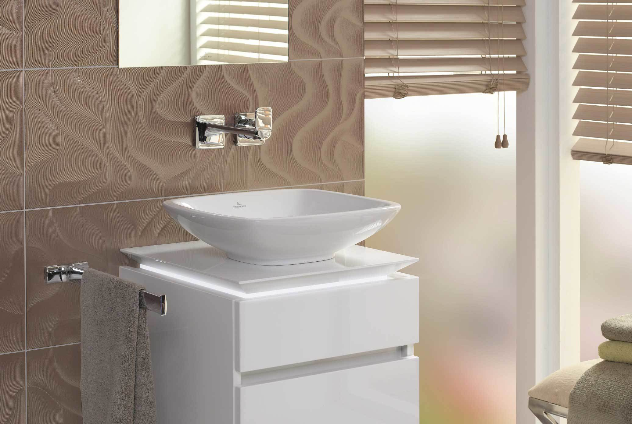 Surface Mounted Washbasin Rectangular Loop Friends By Villeroy Boch Bath Wellness Stylepark