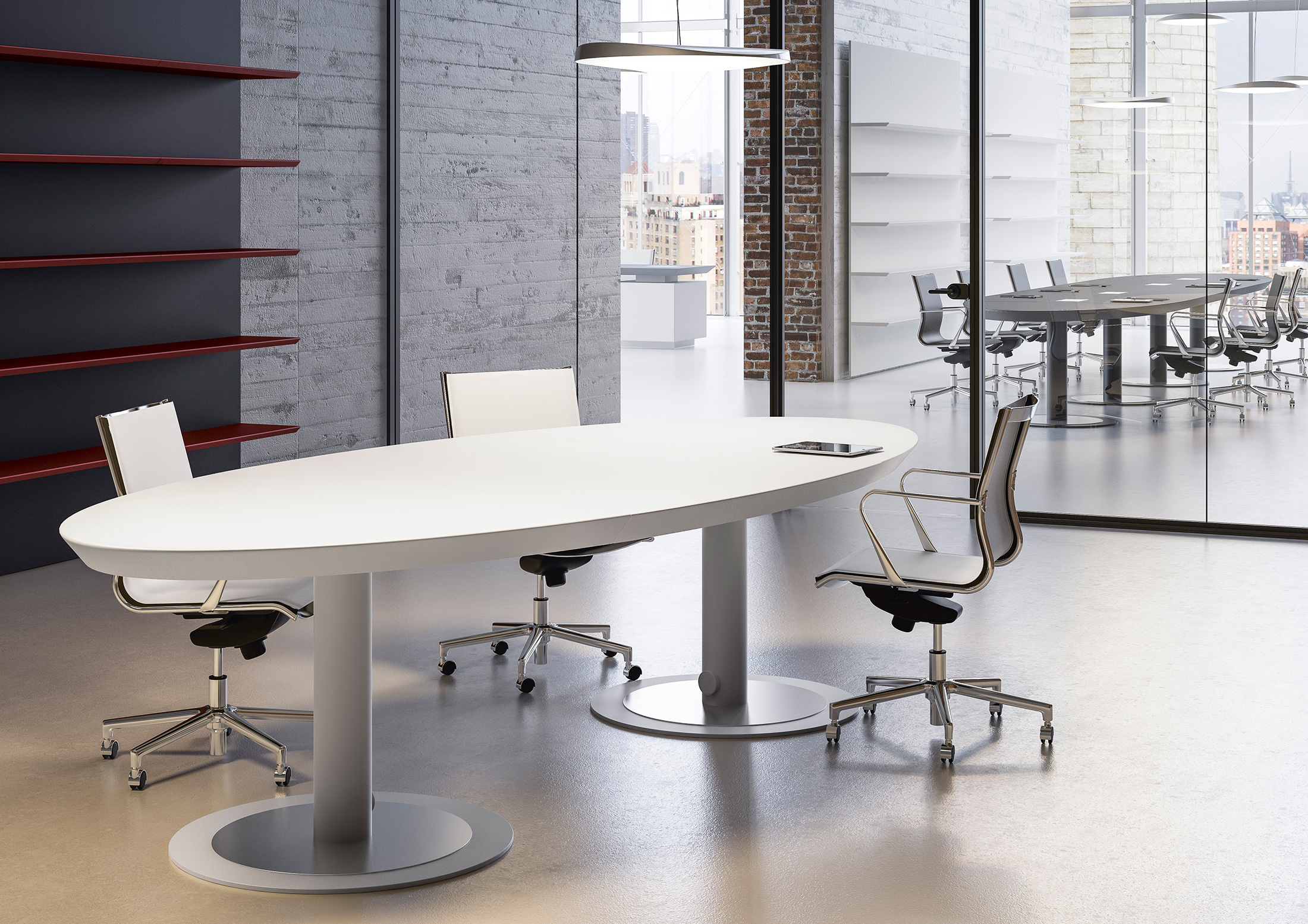 Meeting Room Tables Multipliceo Modular Conference Table By Fantoni Stylepark