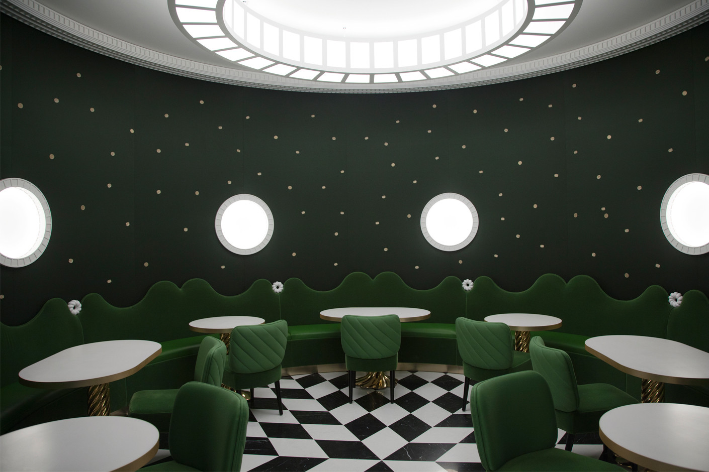 How To Fit Kitchen Wall Cabinets India Mahdavi Has Designed A Cafe For Ladurée | Stylepark