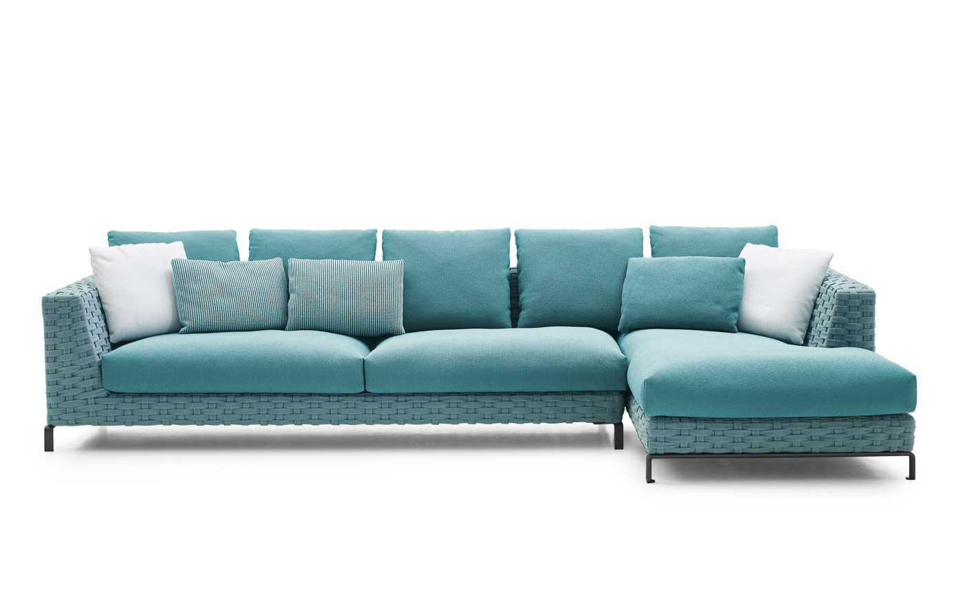 Antonio Citterio City Sofa Ray Outdoor Fabric Corner Sofa By B B Italia Stylepark