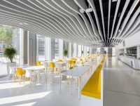 Baffle ceiling by Lindner Group