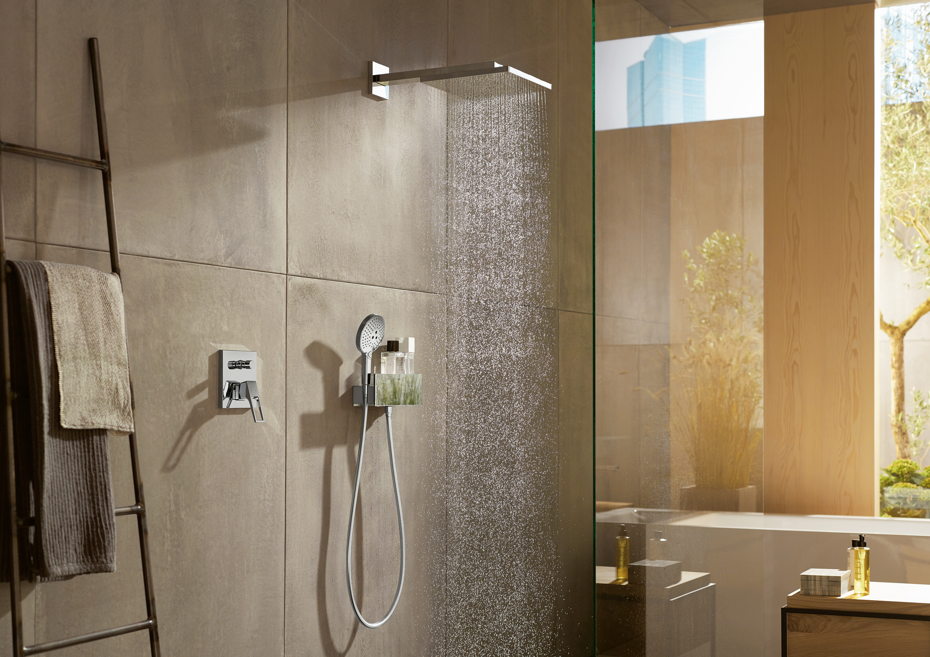 Hansgrohe Ag Raindance E Over Head Shower Ø300 By Hansgrohe Stylepark