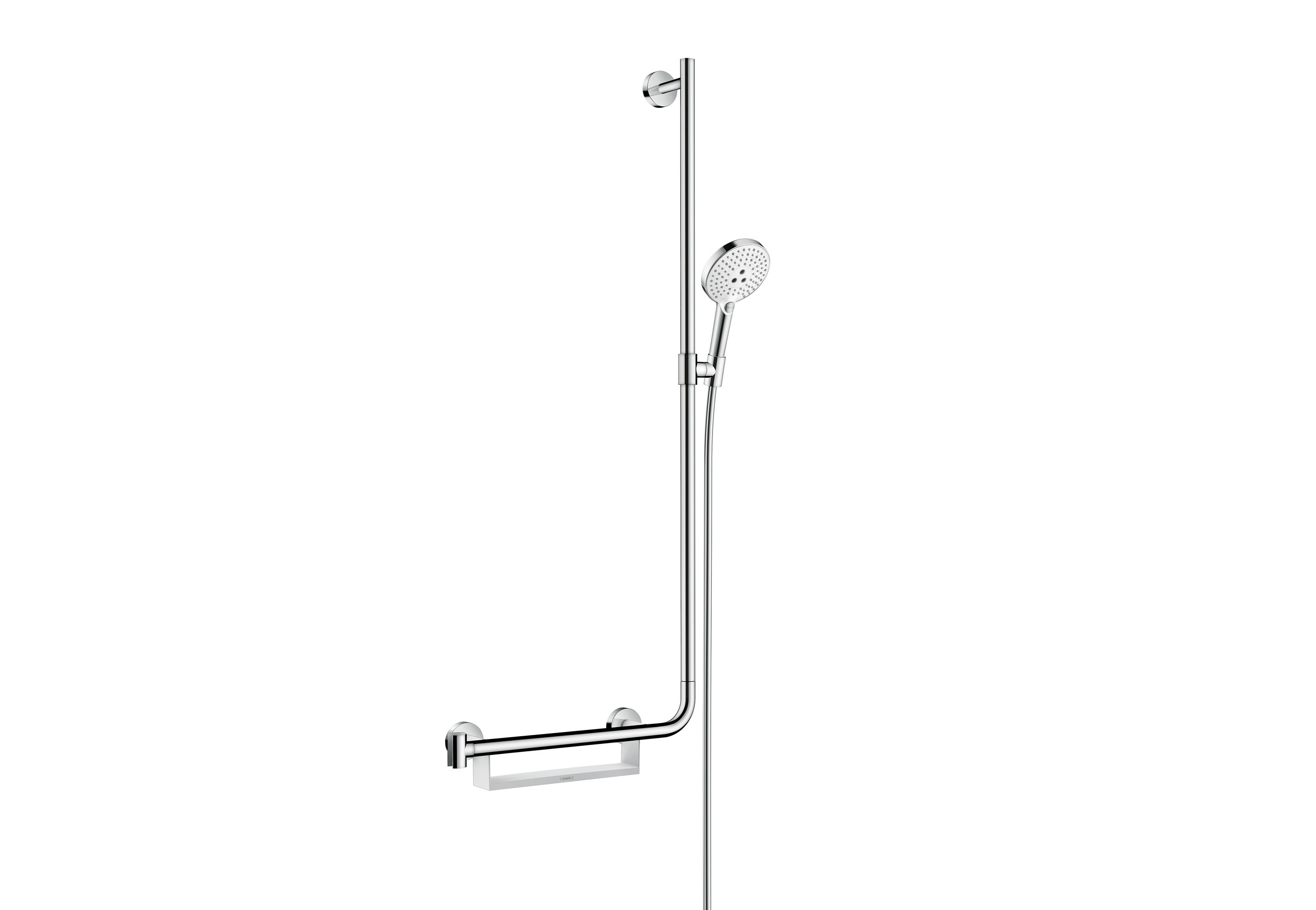 Hansgrohe Ag Unica Comfort Shower Bar Right By Hansgrohe Stylepark