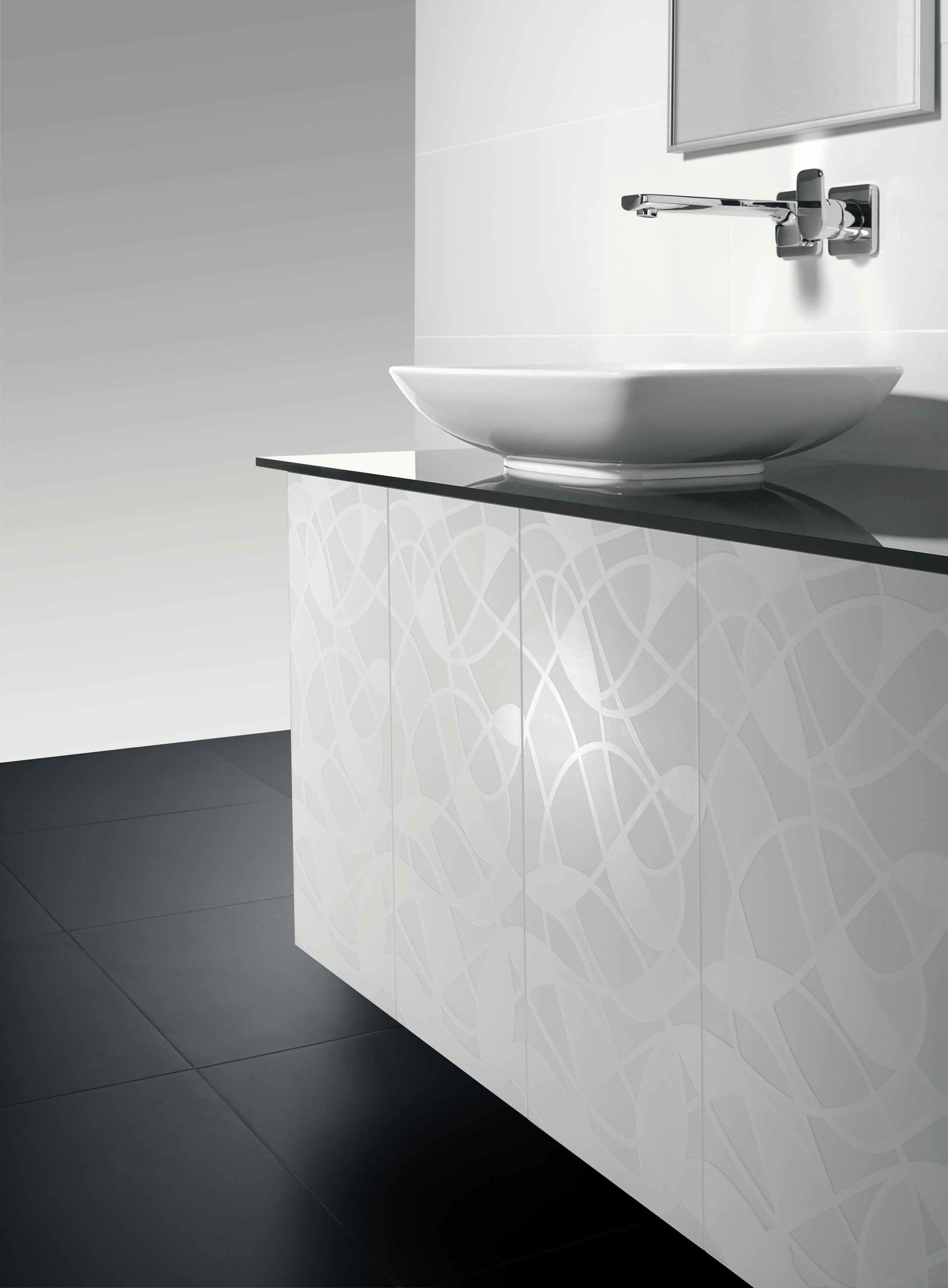 Aufsatzwaschbecken Installation Surface Mounted Washbasin Square Loop Friends By Villeroy Boch