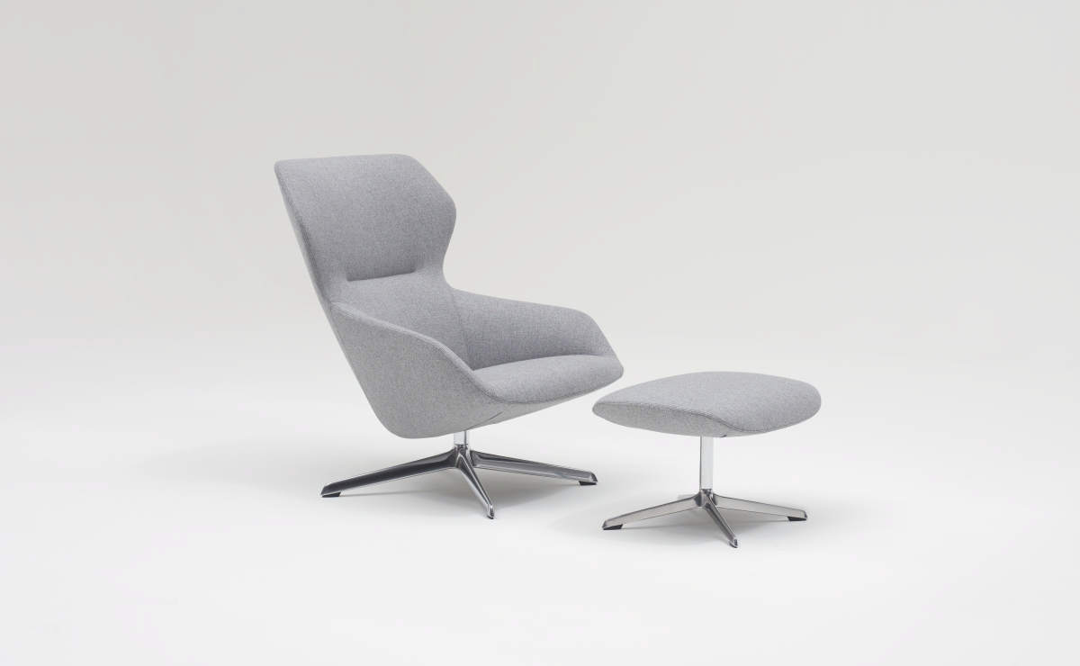 Brunner Sessel Ray Lounge 9247 Von Brunner Stylepark