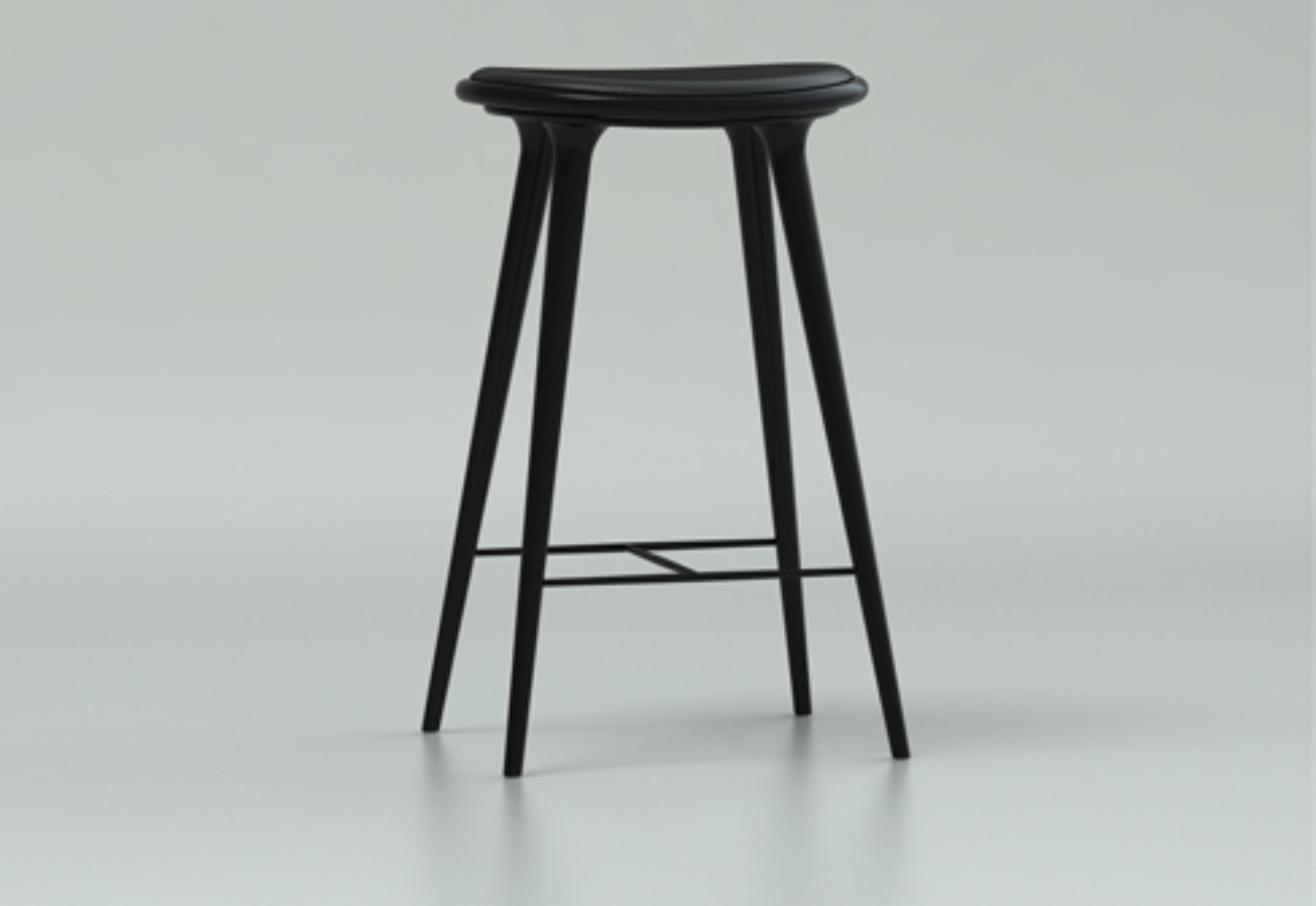 Outdoor Barhocker High Stool By Mater | Stylepark