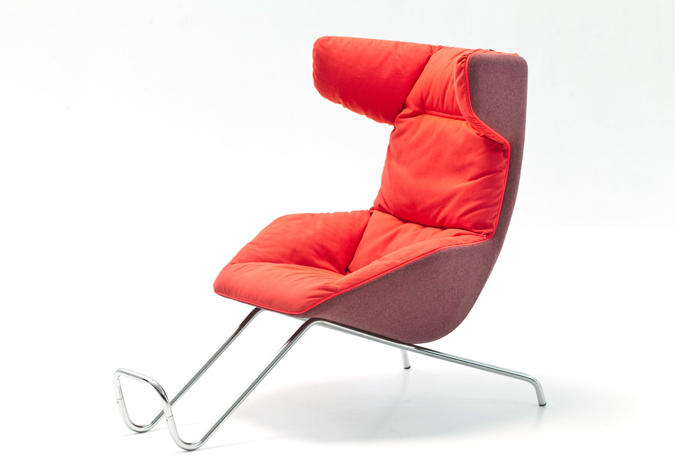 Schmale Kleine Sessel Take A Soft Line For A Walk Sessel Von Moroso Stylepark