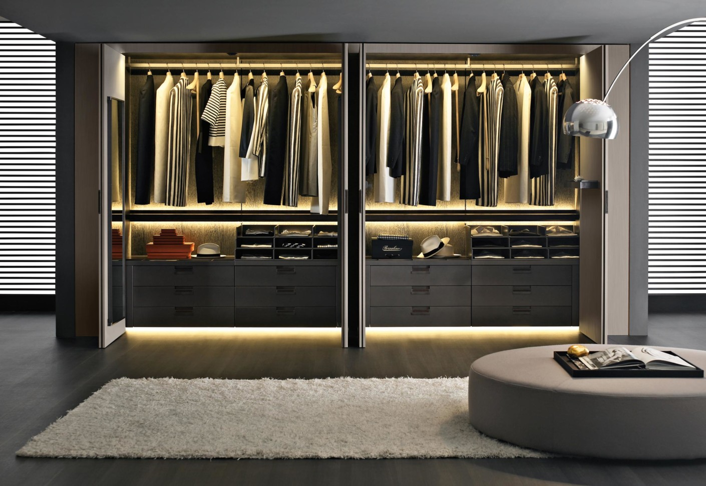 Bar Top Tables Backstage Wall Closet By B&b Italia | Stylepark