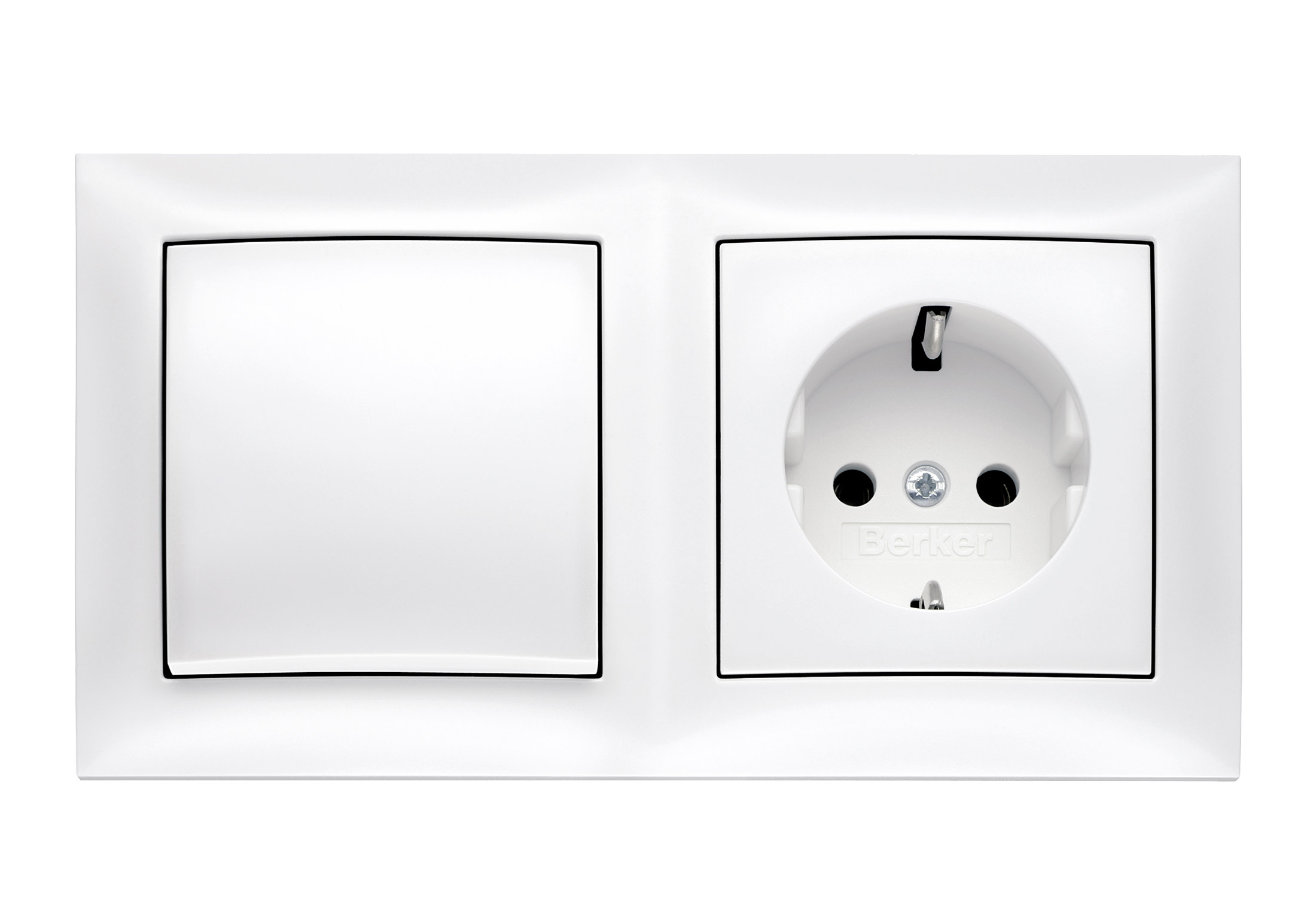 Berker Lichtschalter S 1 Switch Socket Combination By Berker Stylepark