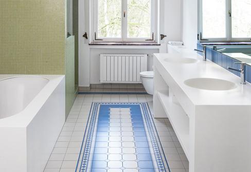 ... DuPont™ Corian® Pfeiffer Art Nouveau Bathroom By DuPont™ Corian    Badezimmer Corian ...