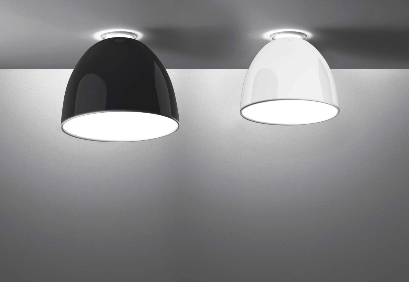 Artemide Nur Mini Nur Gloss Soffitto Mini By Artemide | Stylepark