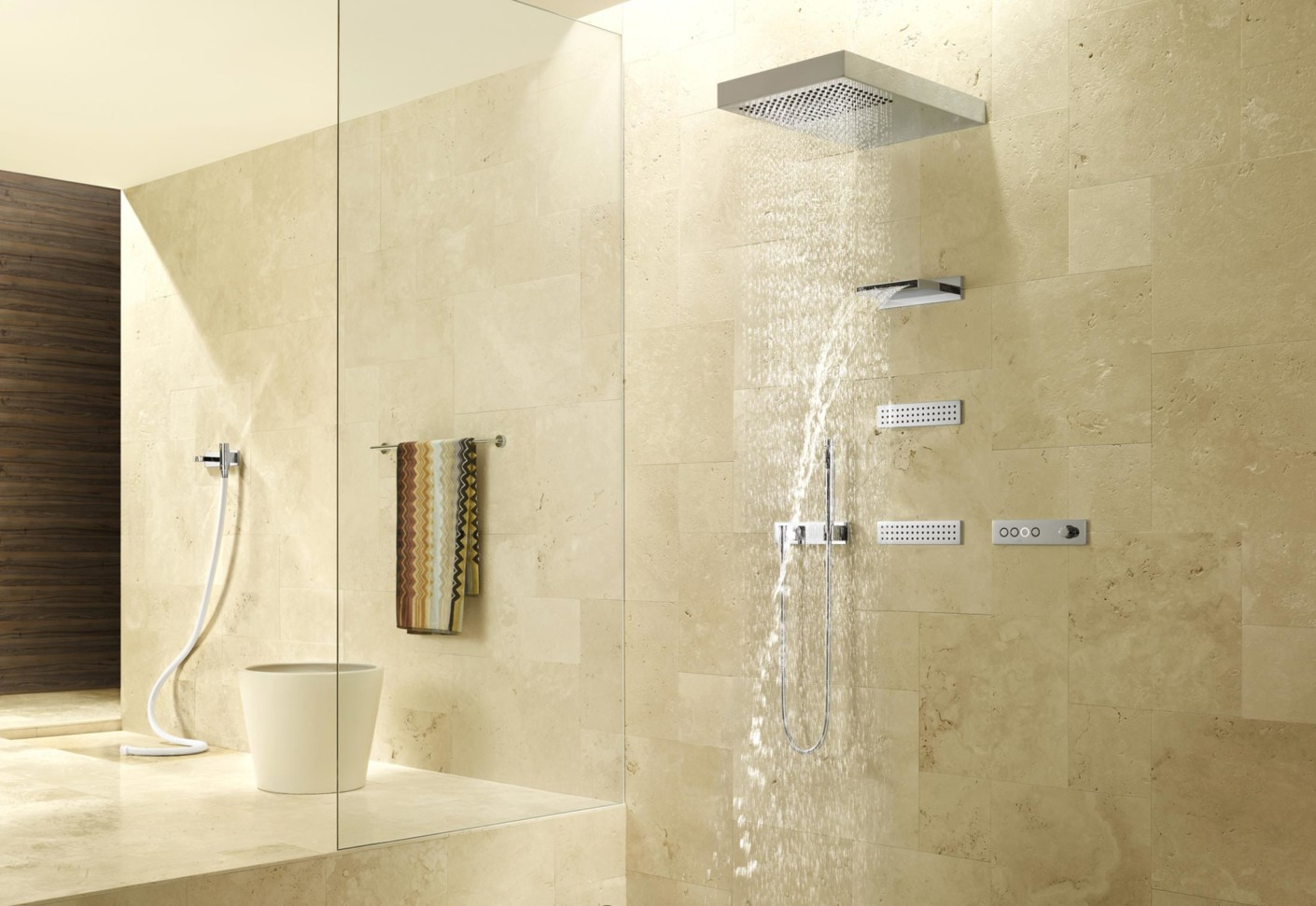 Waterfall Showers Designs Waterfall By Dornbracht Stylepark