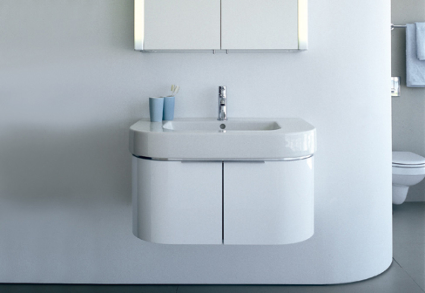 Duravit Happy D.2 Waschtisch Happy D Vanity Unit By Duravit Stylepark
