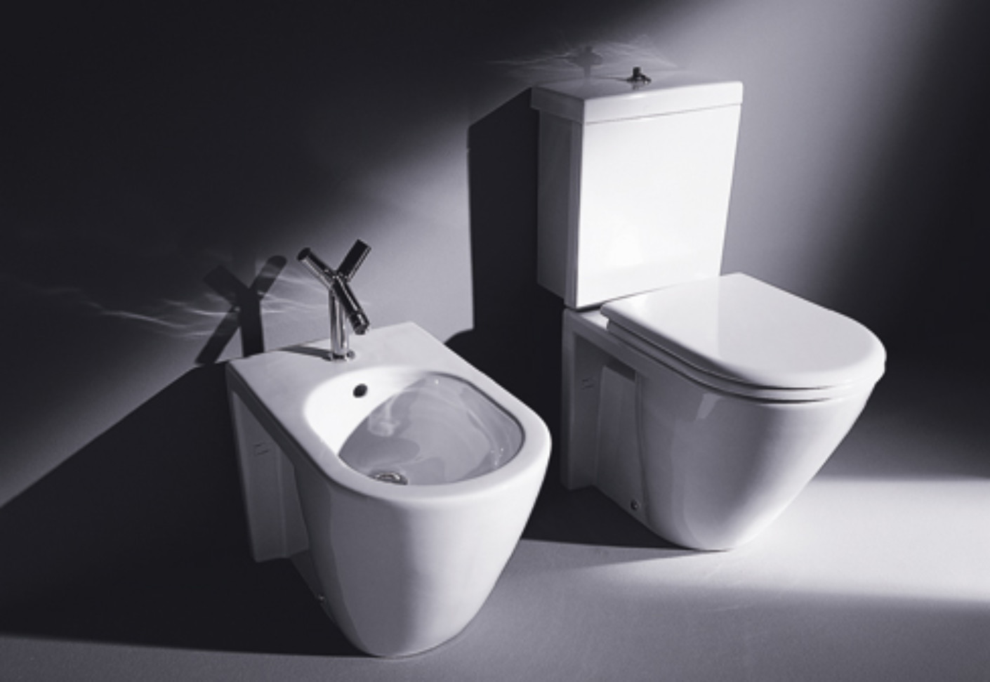 Boxspringbetten De Starck 2 Stand Wc Combination By Duravit | Stylepark