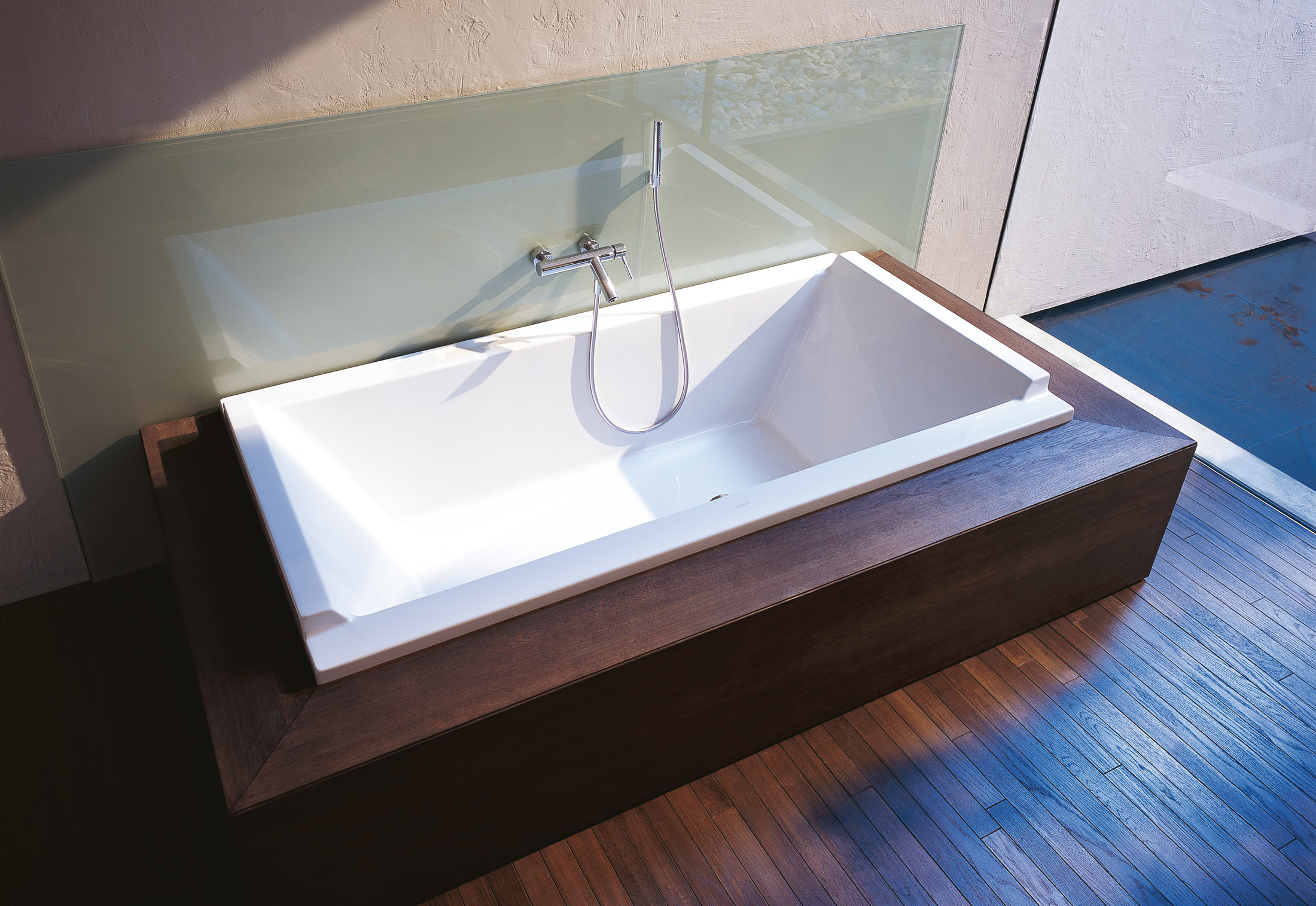 Starck 3 Badewanne Starck Tube Built In Rectangle By Duravit Stylepark