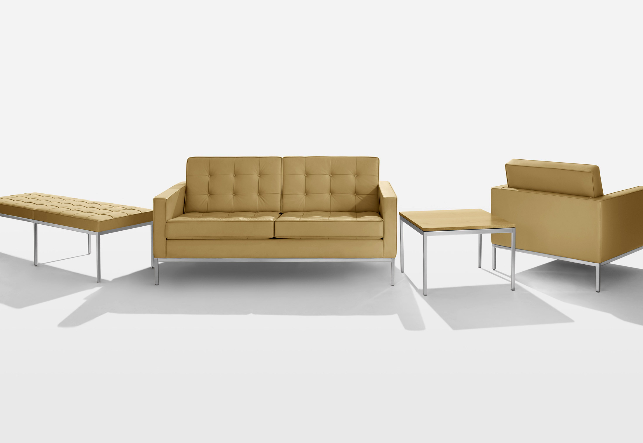 Knoll Relaxsessel Florence Knoll Lounge Bench By Knoll Stylepark