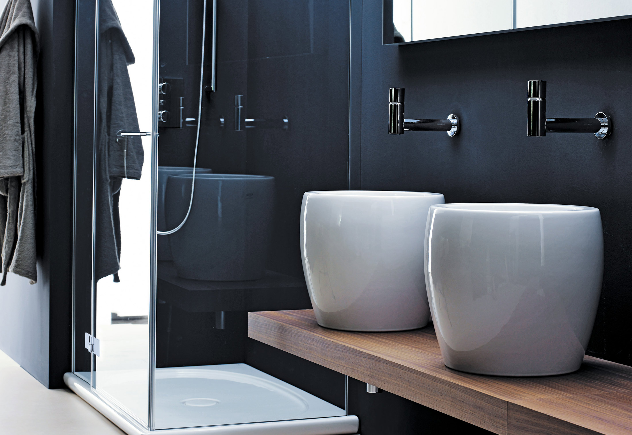 Bagno Design Nigeria Il Bagno Alessi One Single Washbasin Half Tam Tam By Laufen Stylepark