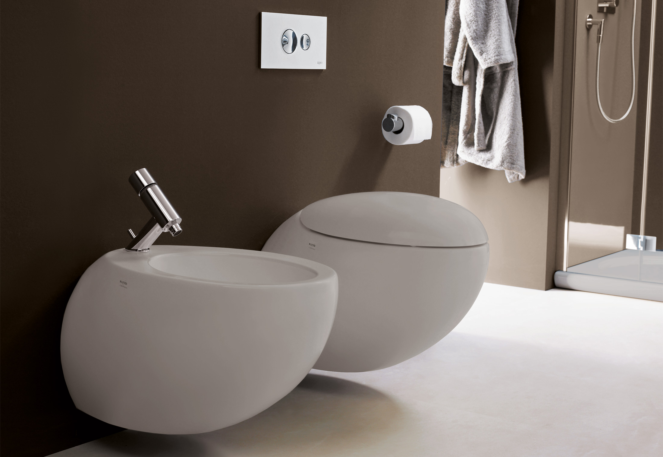 Bagno Design Guatemala Il Bagno Alessi One Wall Mounted Bidet By Laufen Stylepark
