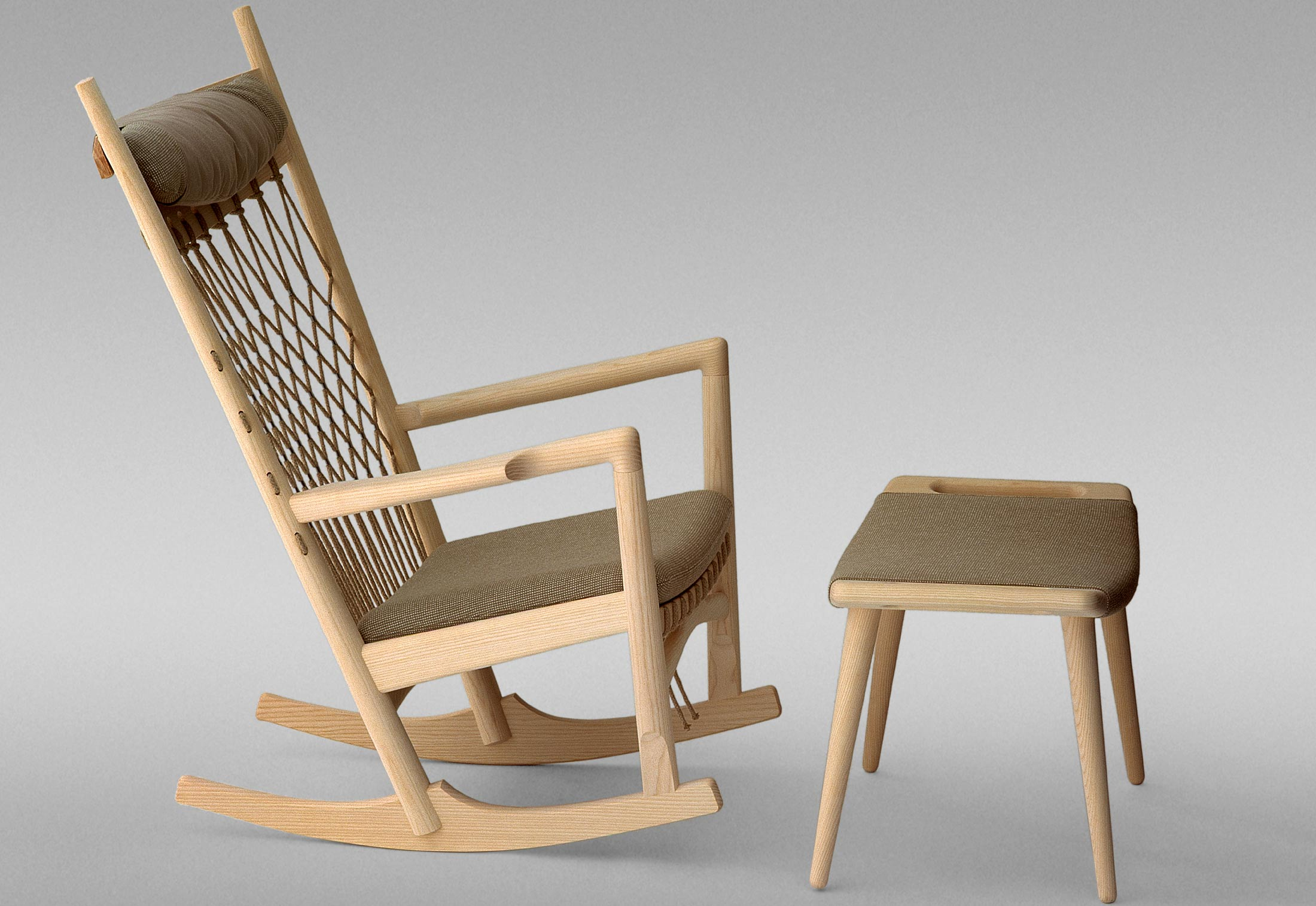 Shaker Schaukelstuhl Pp 124 The Rocking Chair Von Pp Møbler Stylepark