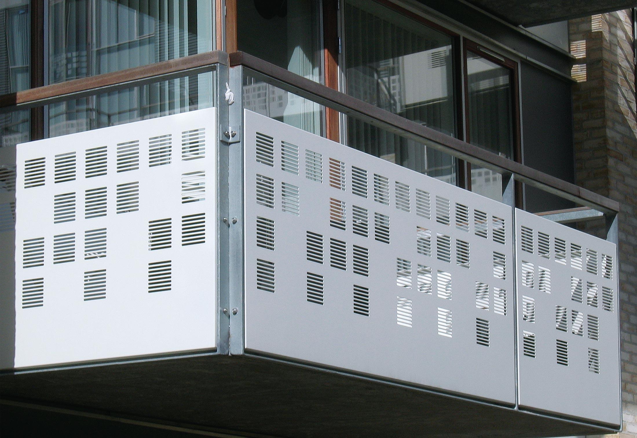 Balkonverkleidung Blech Innenarchitektur Haus Verkleiden