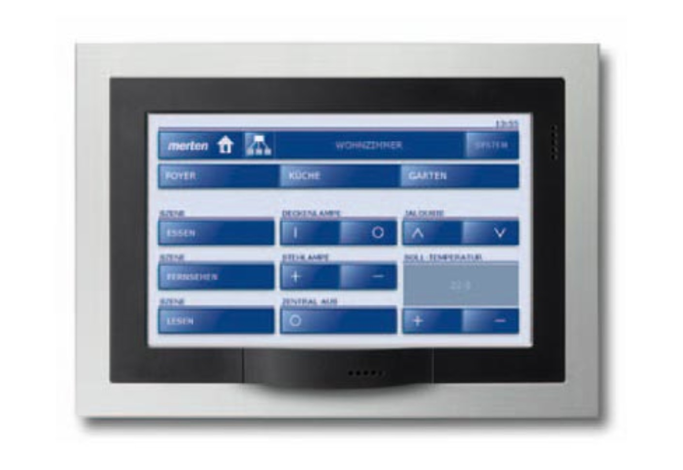 "Sessel Tv Knx Touch Panel 7"" Von Merten 