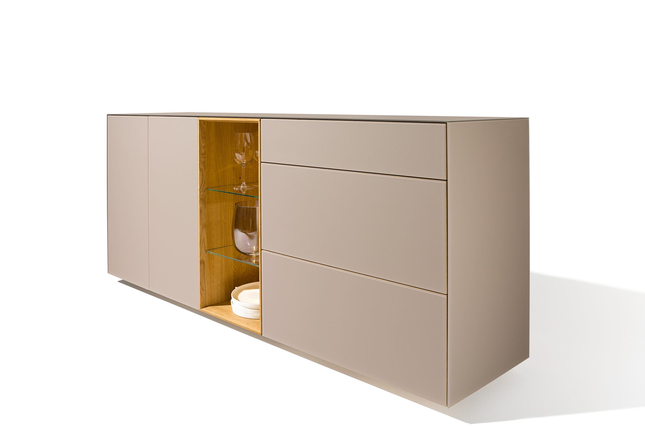 Team 7 Cubus Cubus Pure High Sideboard By Team 7 Stylepark