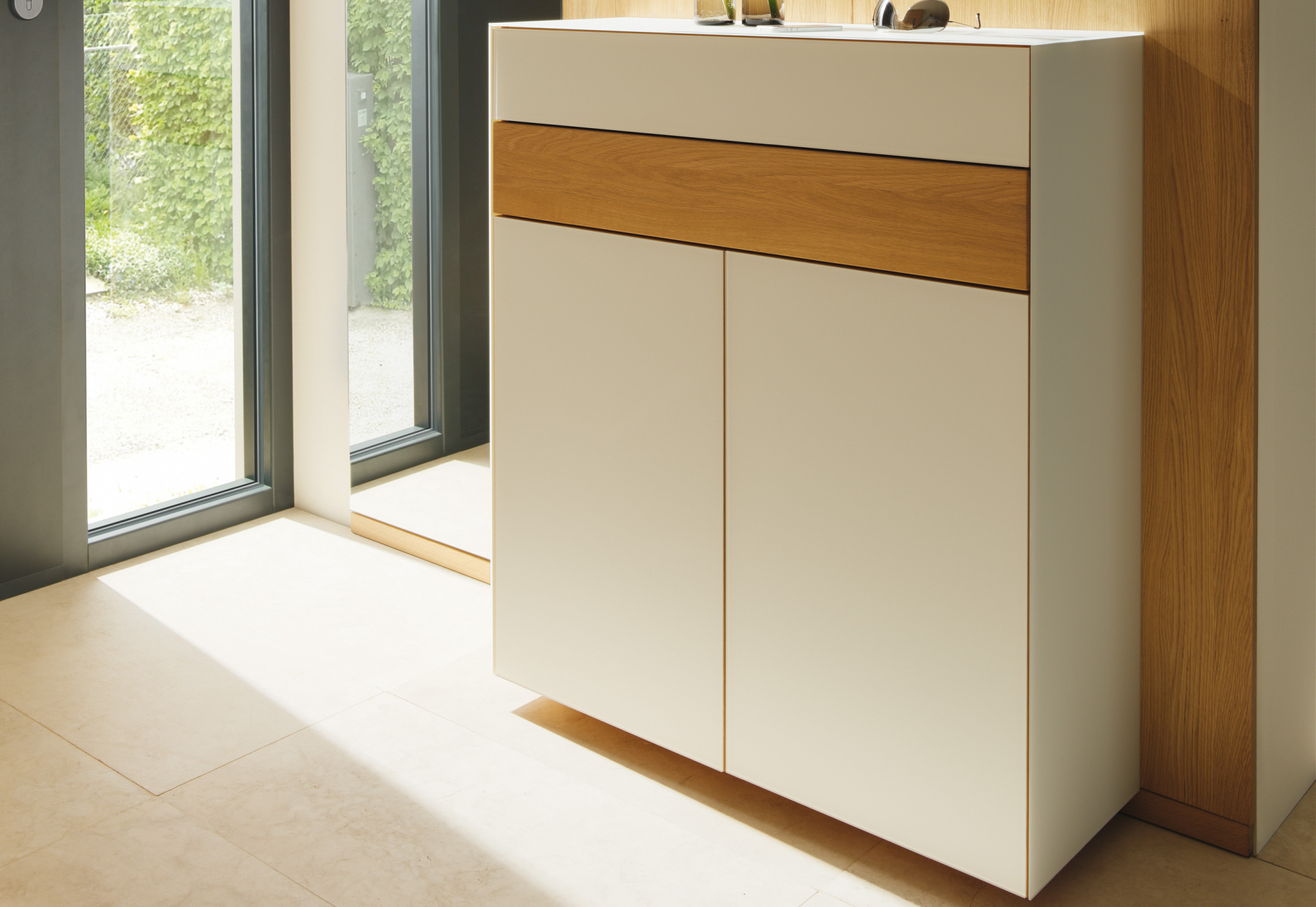 Team 7 Cubus Cubus Pure Narrow Chest Of Drawers By Team 7 Stylepark