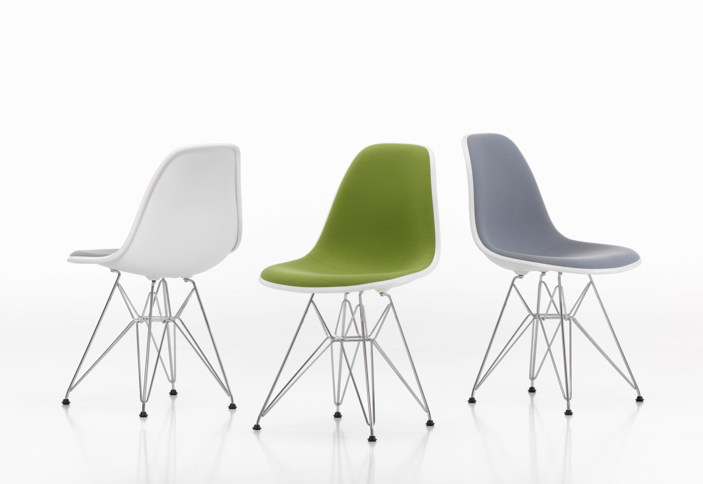 Eames Chair Gepolstert Eames Plastic Side Chair Dsr By Vitra Stylepark