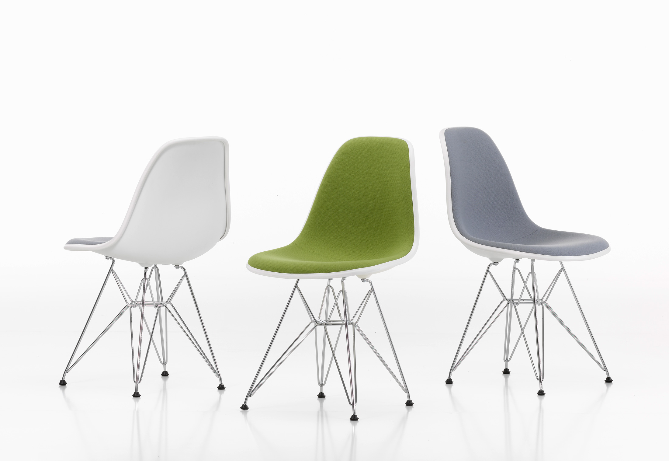 Sedia Eames Verde Eames Plastic Side Chair Dsr By Vitra Stylepark