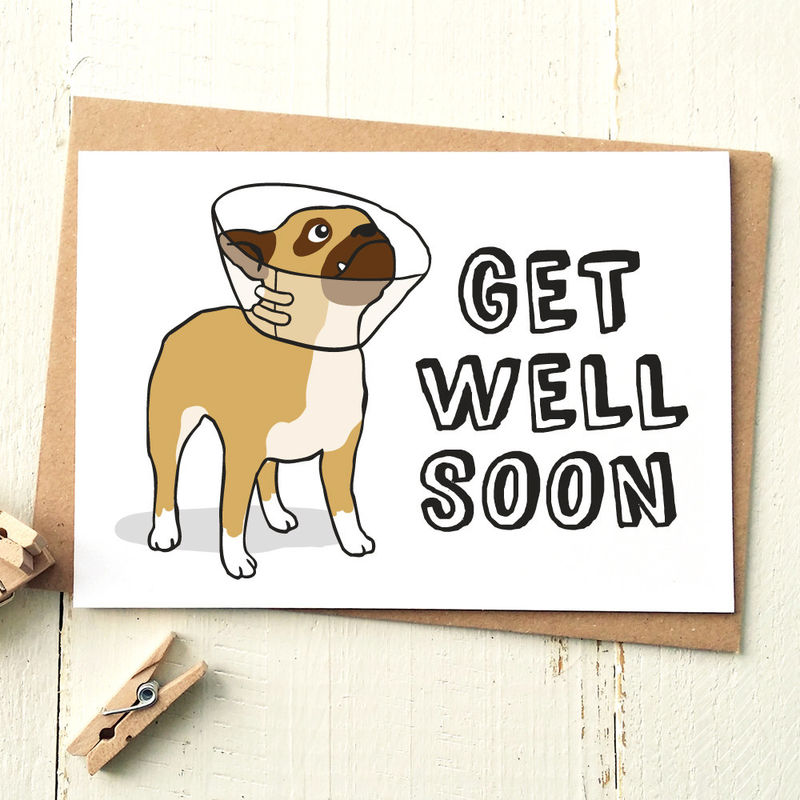 GET WELL SOON CARD - Finch and the Fallow - get well soon card