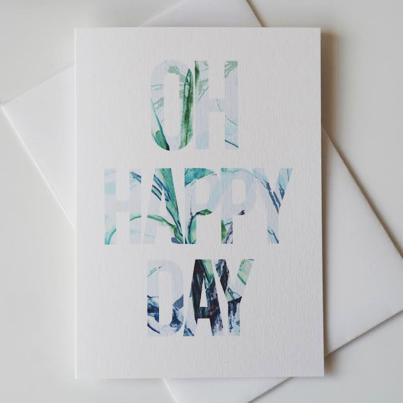 Oh Happy Day Congratulations Card - Well Done Card - Congratulations - new job cards
