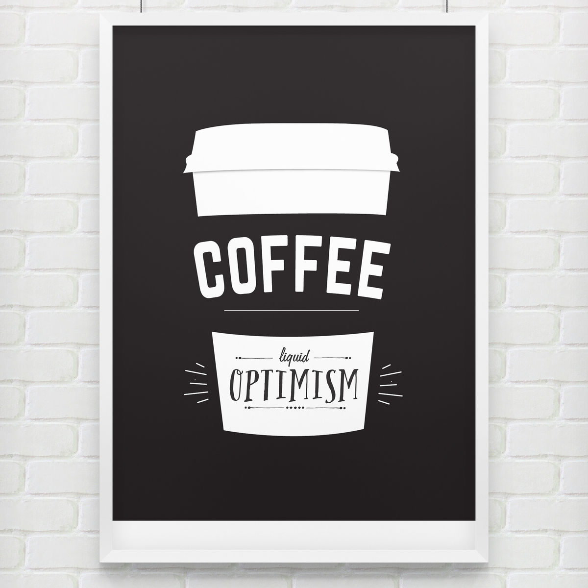 Kaffee Poster 39liquid Inspiration 39 Coffee Poster Doodlelove