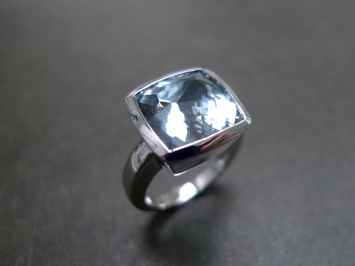 precious stone wedding rings aquamarine wedding rings Download