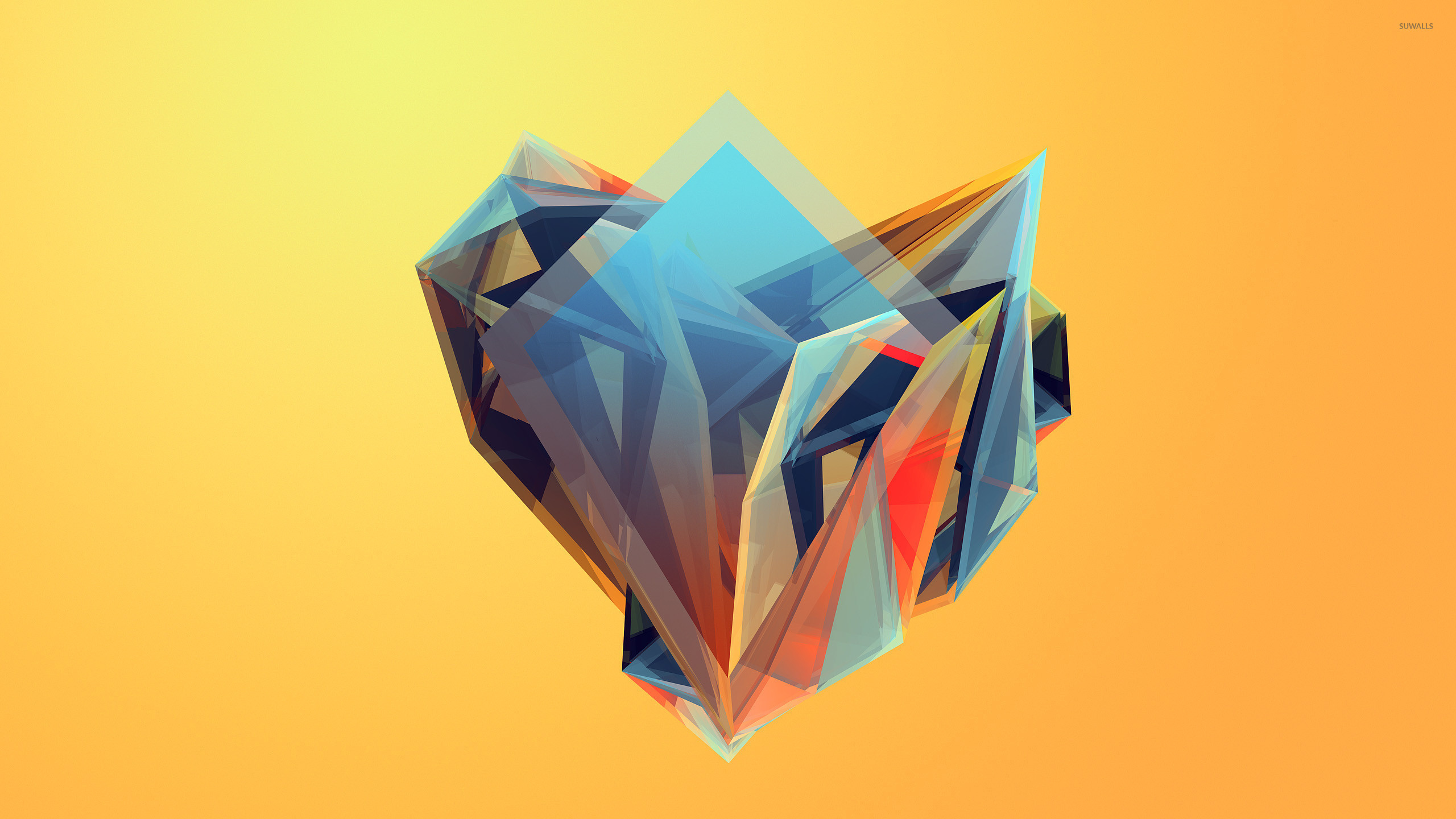 3d Hd Vaporwave Wallpaper Colorful Shapes 7 Wallpaper Abstract Wallpapers 41118