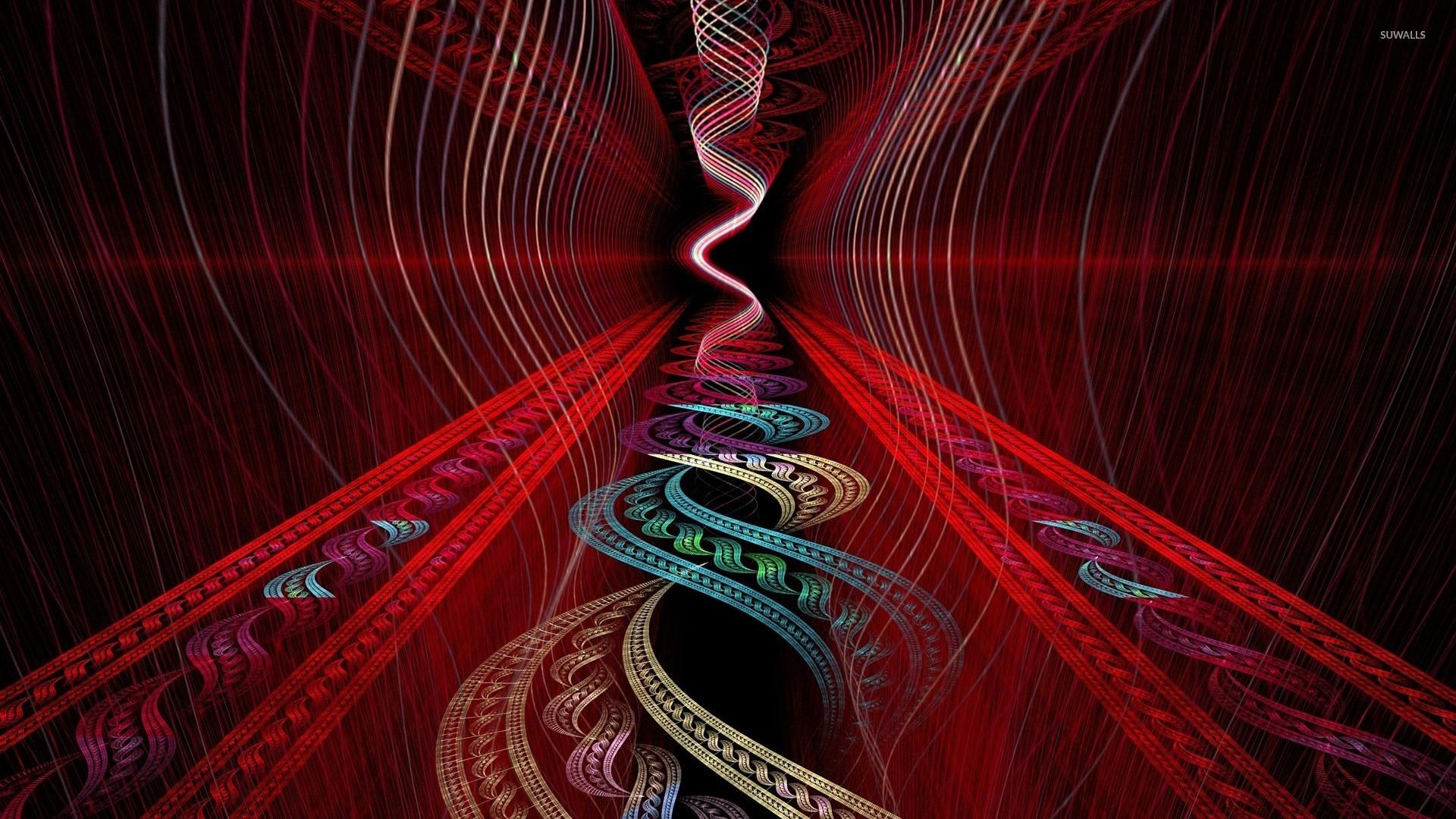 Tribal Pattern Wallpaper Hd Spiraling Fractal Wallpaper Abstract Wallpapers 25948