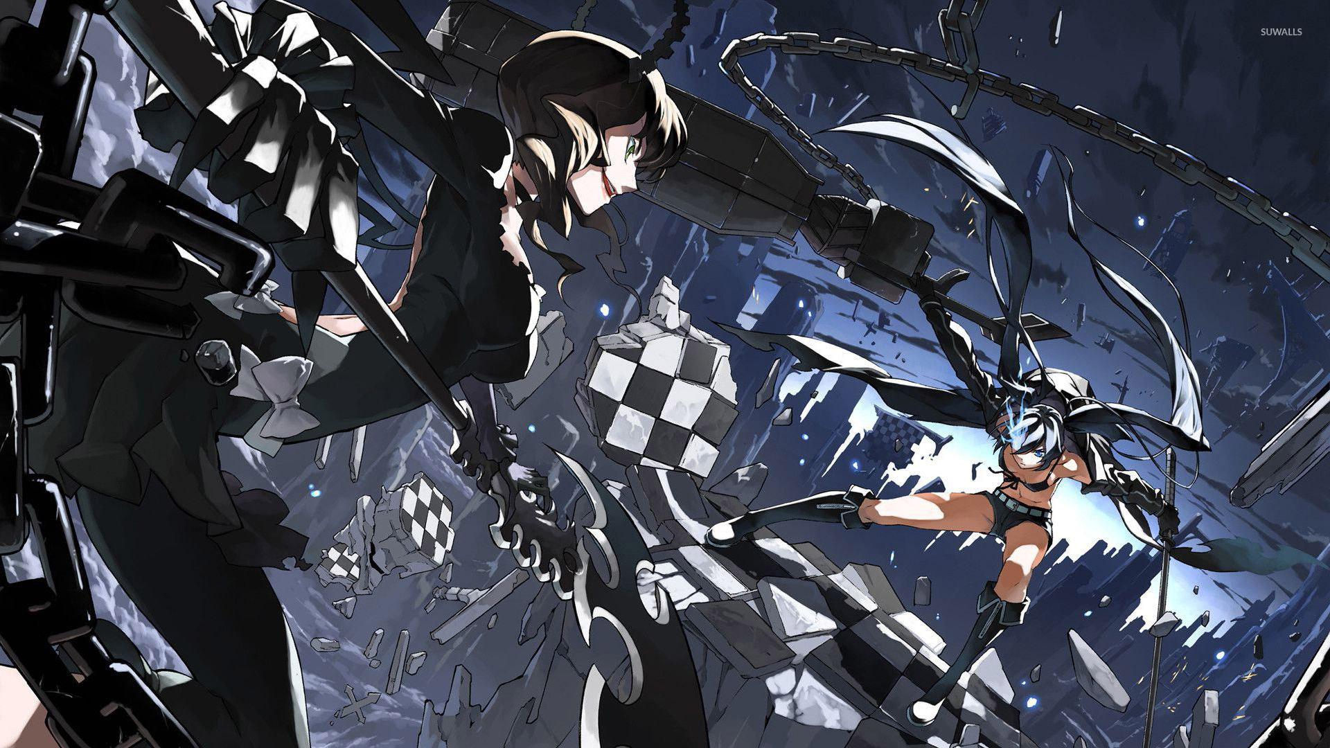 Top Quotes Wallpaper Black Rock Shooter 21 Wallpaper Anime Wallpapers 26560