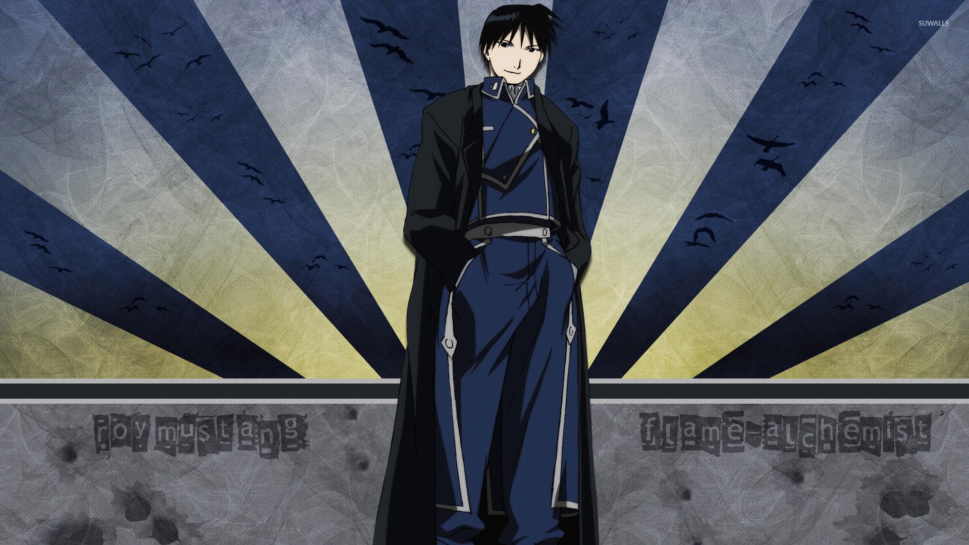 The Alchemist Quotes Wallpaper Roy Mustang Fullmetal Alchemist 2 Wallpaper Anime