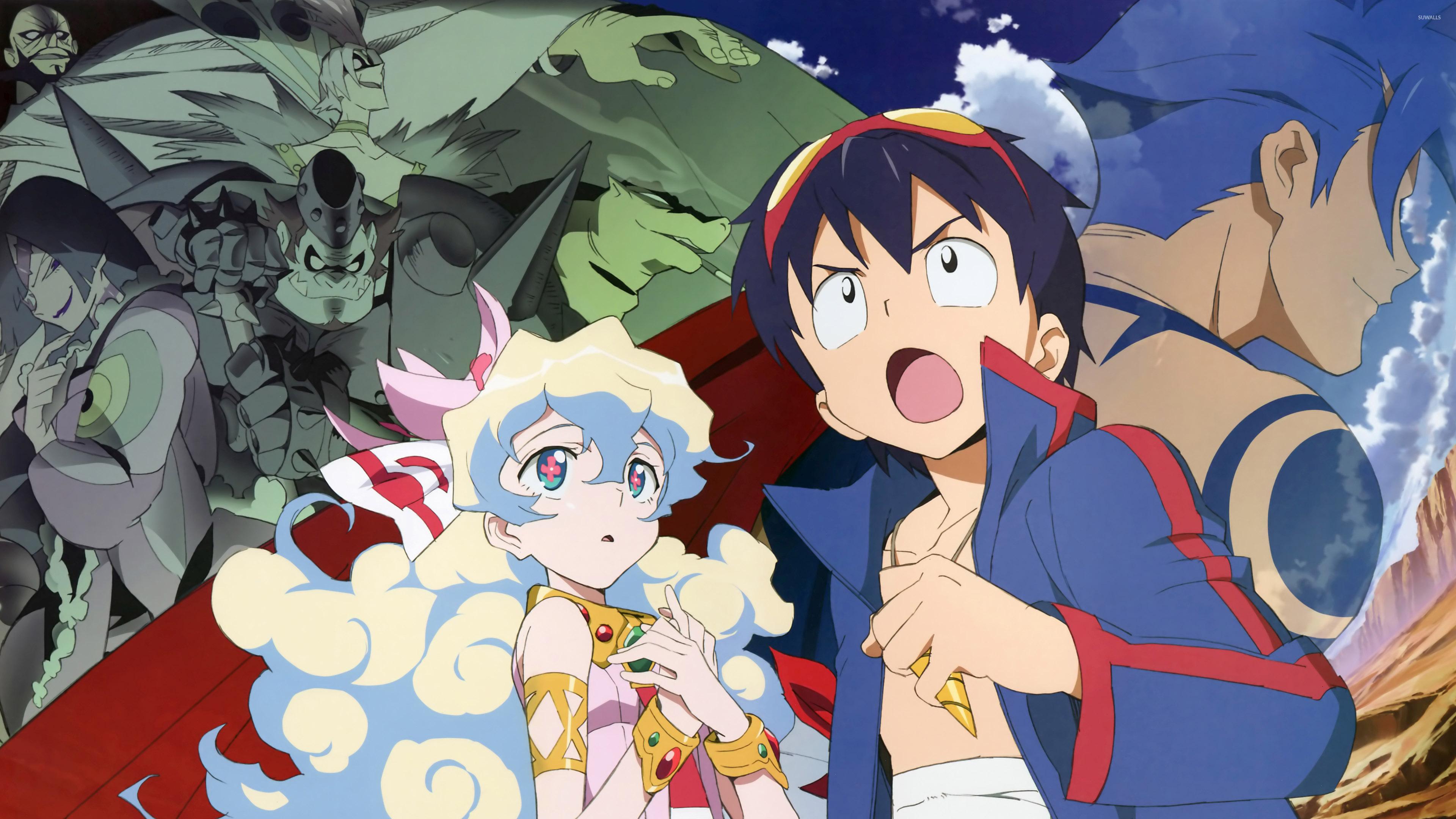 Gurren Lagann Quotes Wallpaper Tengen Toppa Gurren Lagann Wallpaper Anime Wallpapers