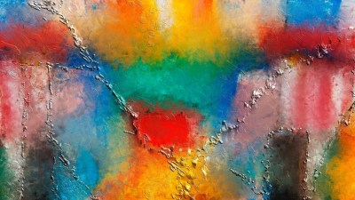 Colorful paint wallpaper - Artistic wallpapers - #37224